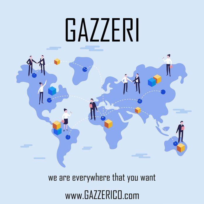 Ocean Freight for shipping of handbags gazzeri company